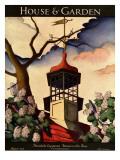 House & Garden Cover - August 1926 Regular Giclee Print by Bradley Walker Tomlin