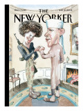 The New Yorker Cover - July 21, 2008 Regular Giclee Print by Barry Blitt