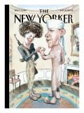 The New Yorker Cover - July 21, 2008 Regular Giclee Print by Barry Blitt