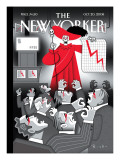 The New Yorker Cover - October 20, 2008 Premium Giclee Print by Robert Risko