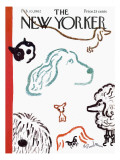The New Yorker Cover - February 10, 1962 Regular Giclee Print by Abe Birnbaum