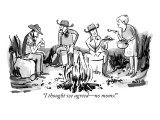 """I thought we agreed—no moms!"" - New Yorker Cartoon Premium Giclee Print by Kate Beaton"