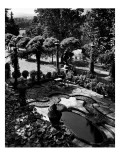 House & Garden - July 1947 Premium Photographic Print by Unknown Gottscho-Schleisner
