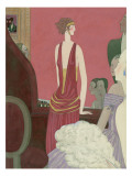 Vogue - January 1923 Regular Giclee Print by Georges Lepape