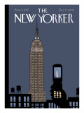 The New Yorker Cover - October 3, 2005 Premium Giclee Print by Chris Ware