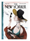 The New Yorker Cover - June 13, 2005 Premium Giclee Print by Ana Juan