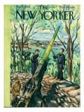The New Yorker Cover - May 8, 1943 Premium Giclee Print by Alan Dunn