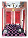 The New Yorker Cover - November 15, 1969 Premium Giclee Print by Charles E. Martin