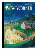 The New Yorker Cover - August 11, 2008 Premium Giclee Print by Jean-Jacques Sempé