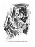 """Berlin says Paris says waistlines will be larger."" - New Yorker Cartoon Premium Giclee Print by Alan Dunn"