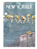 The New Yorker Cover - November 21, 1959 Premium Giclee Print by Anatol Kovarsky