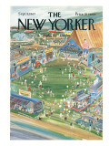The New Yorker Cover - September 9, 1967 Premium Giclee Print by Anatol Kovarsky