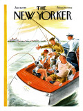 The New Yorker Cover - January 8, 1949 Premium Giclee Print by Constantin Alajalov