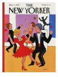 The New Yorker Cover - December 11, 1989 Premium Giclee Print by Barbara Westman