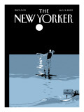 The New Yorker Cover - August 31, 2009 Premium Giclee Print by Istvan Banyai