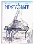 The New Yorker Cover - November 12, 1990 Premium Giclee Print by Paul Degen