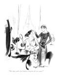 """My dear, you're the Empress Eugénie all over again!"" - New Yorker Cartoon Premium Giclee Print by Kemp Starrett"