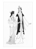 Vogue - April 1922 Regular Giclee Print by Claire Avery