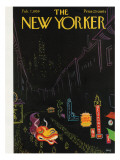 The New Yorker Cover - February 7, 1959 Premium Giclee Print by Robert Kraus