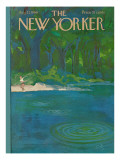The New Yorker Cover - August 27, 1966 Premium Giclee Print by Arthur Getz