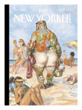 The New Yorker Cover - August 29, 2005 Premium Giclee Print by Peter de Sève