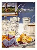 Gourmet Cover - November 1952 Regular Giclee Print by Henry Stahlhut