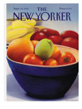The New Yorker Cover - September 14, 1992 Premium Giclee Print by Gretchen Dow Simpson