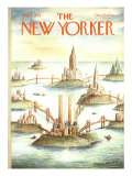The New Yorker Cover - May 8, 1978 Regular Giclee Print by Paul Degen