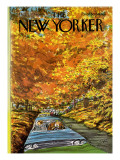The New Yorker Cover - October 7, 1974 Regular Giclee Print by Charles Saxon