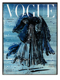 Vogue Cover - December 1948 Regular Giclee Print by Eugene Berman