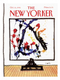 The New Yorker Cover - October 15, 1990 Premium Giclee Print by Donald Reilly