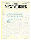 The New Yorker Cover - October 20, 1986 Regular Giclee Print by Jean-Jacques Sempé