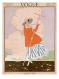 Vogue Cover - July 1915 Regular Giclee Print by Helen Dryden