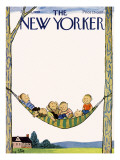 The New Yorker Cover - July 26, 1958 Premium Giclee Print by William Steig