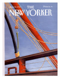 The New Yorker Cover - June 22, 1992 Premium Giclee Print by Gretchen Dow Simpson