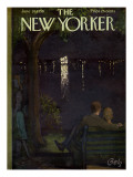 The New Yorker Cover - June 28, 1958 Premium Giclee Print by Arthur Getz