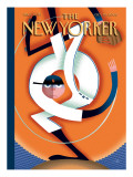The New Yorker Cover - October 23, 2006 Regular Giclee Print by Bob Staake