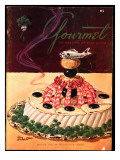 Gourmet Cover - March 1952 Regular Giclee Print by Henry Stahlhut
