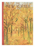 The New Yorker Cover - October 8, 1955 Premium Giclee Print by Abe Birnbaum