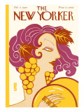 The New Yorker Cover - October 3, 1925 Regular Giclee Print by Barbara Shermund