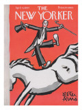 The New Yorker Cover - April 4, 1964 Premium Giclee Print by Peter Arno