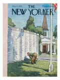 The New Yorker Cover - August 11, 1945 Premium Giclee Print by Alan Dunn