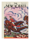 The New Yorker Cover - October 22, 1927 Premium Giclee Print by Julian de Miskey