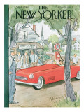 The New Yorker Cover - September 4, 1954 Regular Giclee Print by Perry Barlow