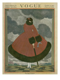 Vogue Cover - October 1916 Premium Giclee Print by George Wolfe Plank