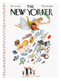 The New Yorker Cover - October 6, 1945 Premium Giclee Print by Constantin Alajalov