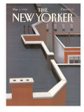 The New Yorker Cover - March 5, 1990 Premium Giclee Print by Gretchen Dow Simpson