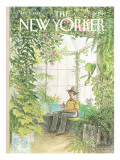 The New Yorker Cover - January 31, 1983 Premium Giclee Print by Charles Saxon