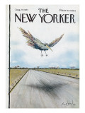 The New Yorker Cover - August 27, 1973 Premium Giclee Print by Ronald Searle