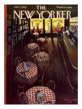 The New Yorker Cover - July 13, 1963 Premium Giclee Print by Donald Higgins